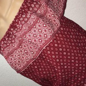 Womens M Sanctuary cold shoulder bandana top NWT